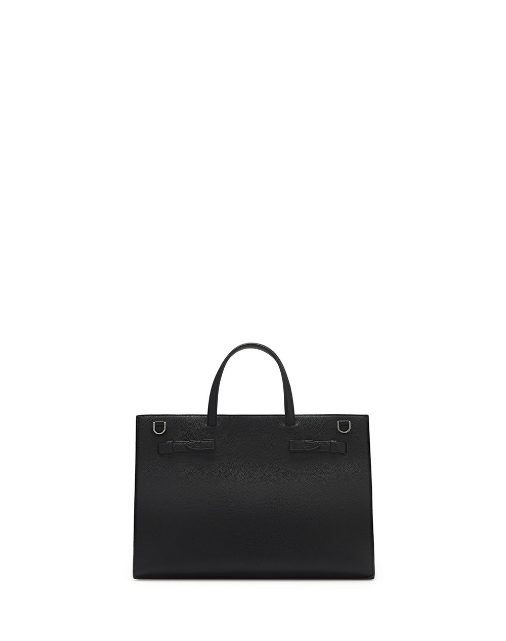 GRAINED LEATHER BOGEY BAG MM - Lanvin