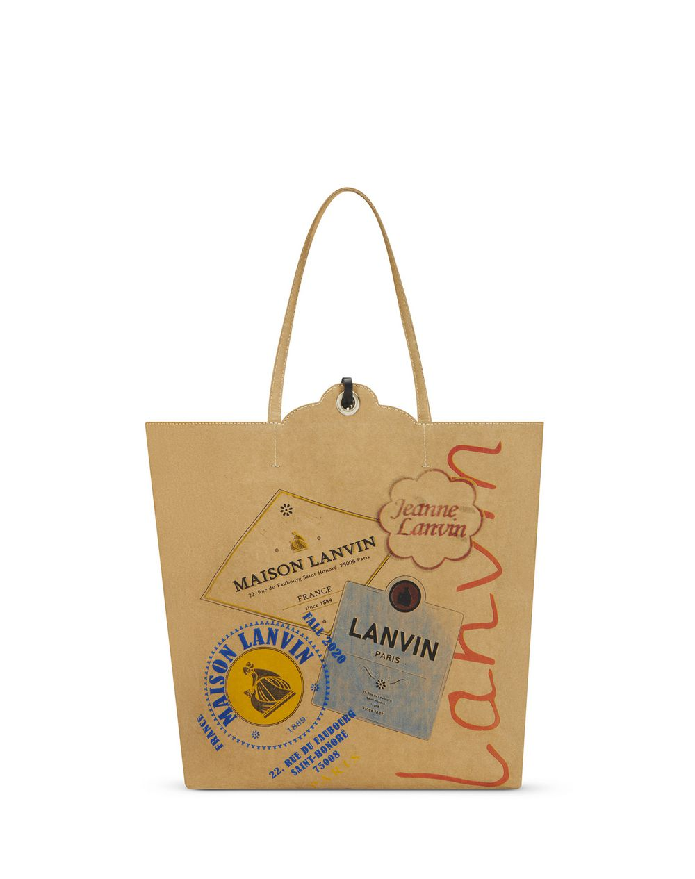 KRAFT CABAS GROCERY BAG - Lanvin