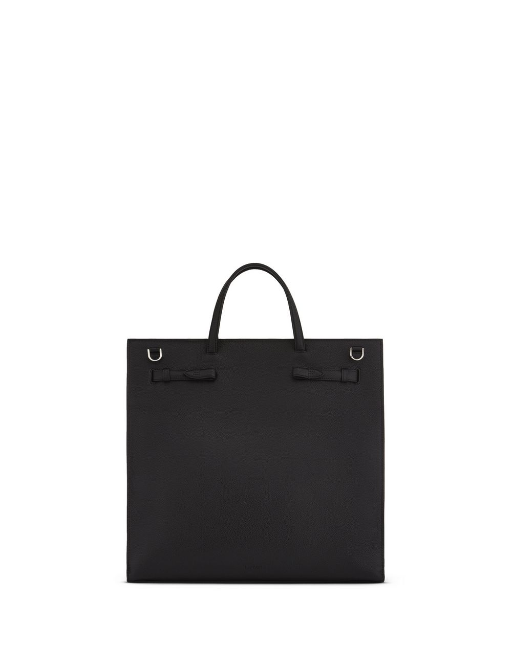 GRAINED LEATHER NORTH SOUTH BOGEY BAG - Lanvin