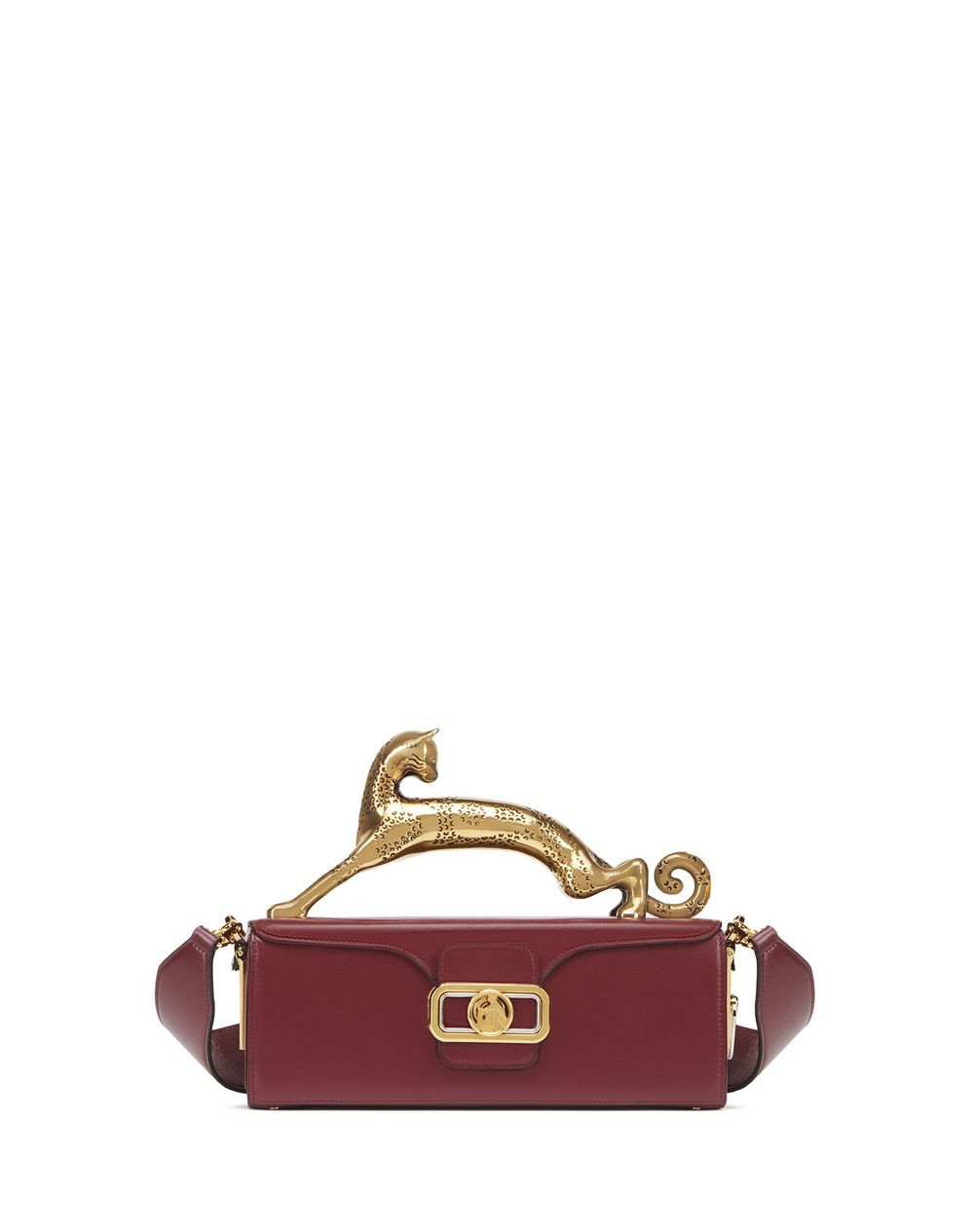 PENCIL CAT BAG IN BOX CALF - Lanvin