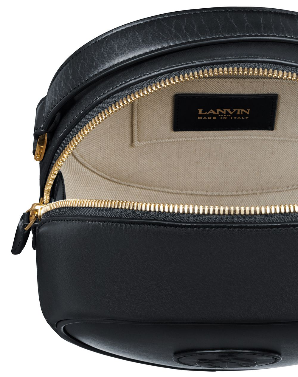 COOKIE BAG IN CALFSKIN LEATHER - Lanvin