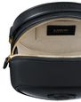 LANVIN Shoulder bag Woman COOKIE BAG IN CALFSKIN LEATHER f