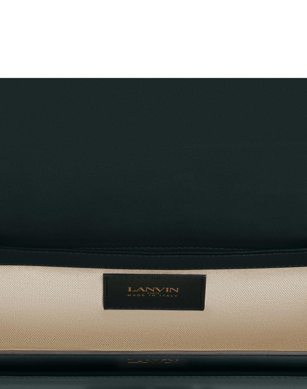 SWAN BOX BAG MM IN CALFSKIN LEATHER - Lanvin