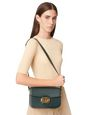 LANVIN Shoulder bag Woman SWAN BOX BAG MM IN CALFSKIN LEATHER f
