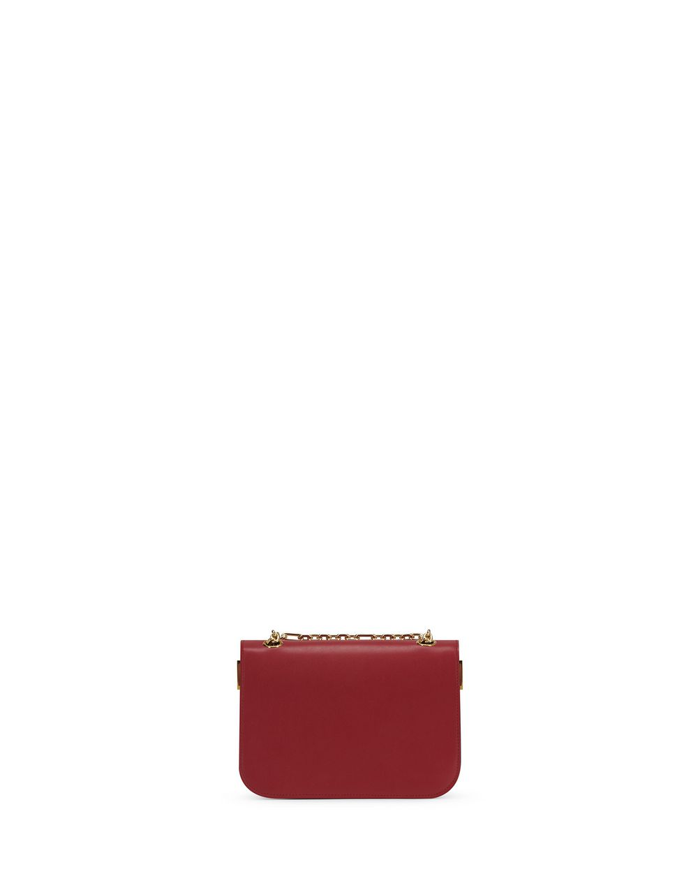 SWAN BOX CHAIN BAGSM IN CALFSKIN LEATHER - Lanvin