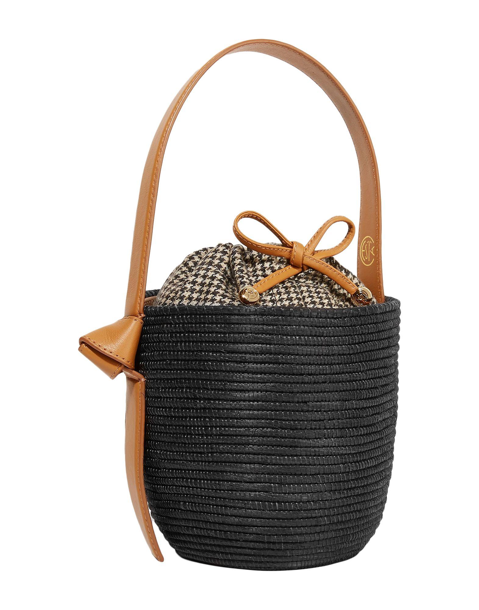 《セール開催中》CESTA COLLECTIVE レディース ハンドバッグ ブラック 紡績繊維