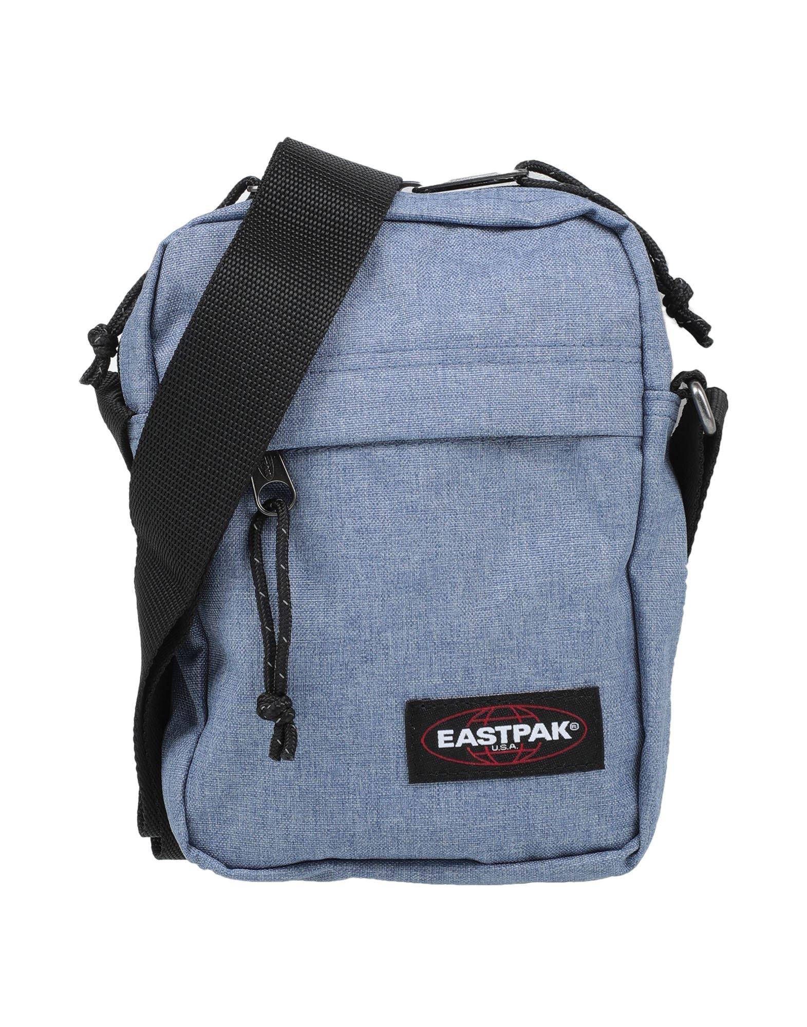 《セール開催中》EASTPAK メンズ メッセンジャーバッグ パステルブルー ナイロン 100%