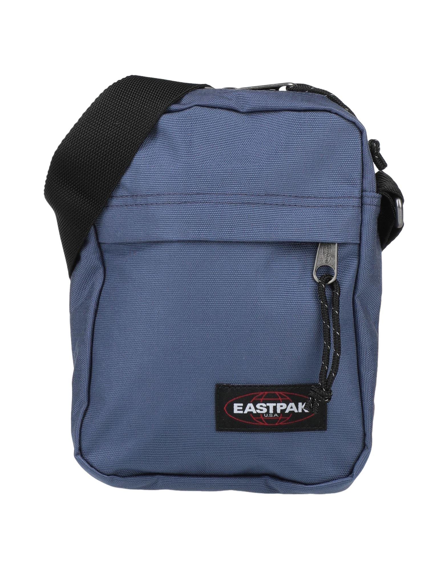 《セール開催中》EASTPAK メンズ メッセンジャーバッグ ブルーグレー ナイロン 100%