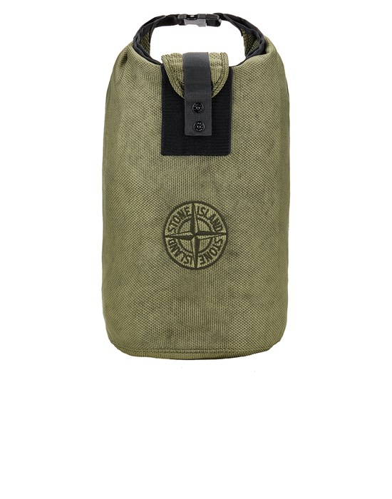 STONE ISLAND 91026 MODIFIED PANAMA 6/3 HT NYLON Backpack Man Sage Green