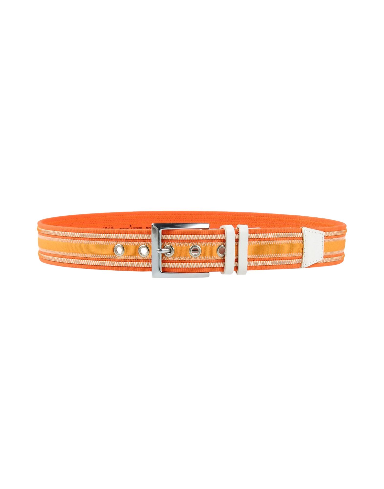 CLAUDIO ORCIANI Belt in Orange
