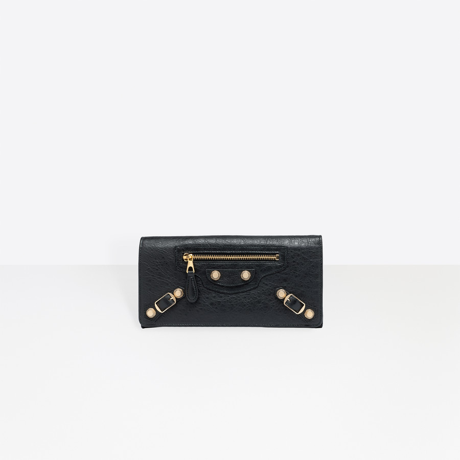 BALENCIAGA Giant Money Oro Monedero Giant D f