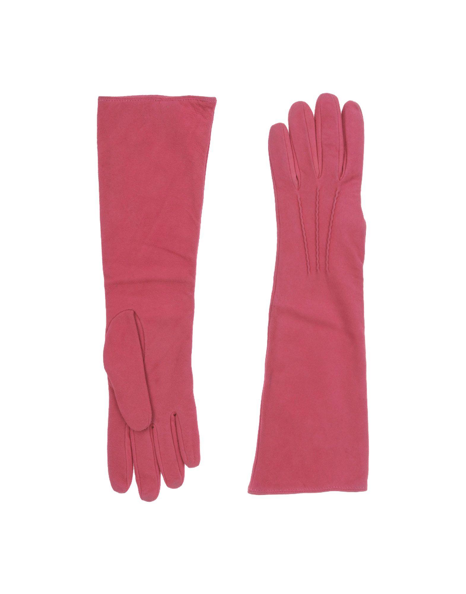 DSQUARED2 Damen Handschuhe Farbe Purpur Größe 3 jetztbilligerkaufen