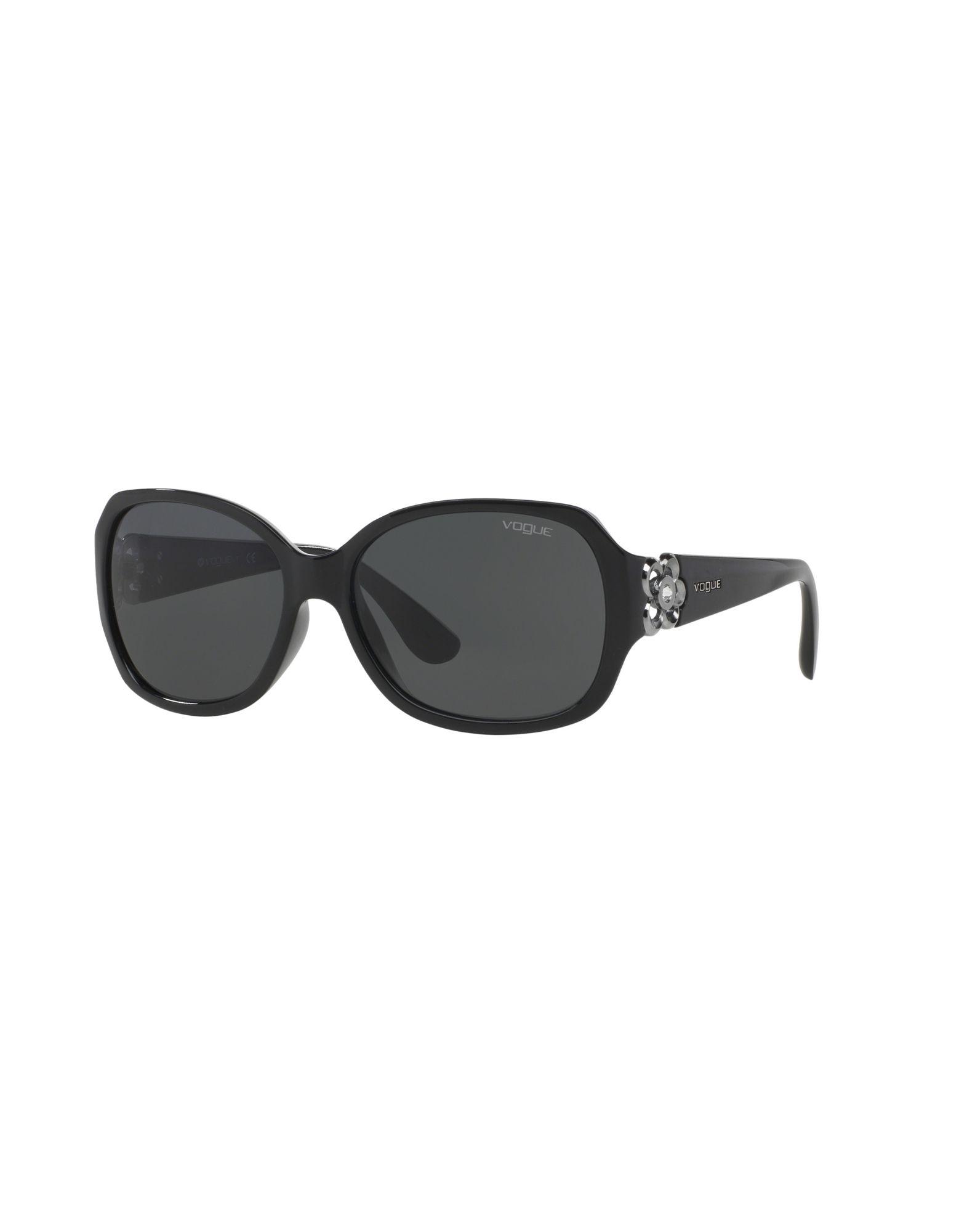 VOGUE Damen Sonnenbrille Farbe Schwarz Größe 1