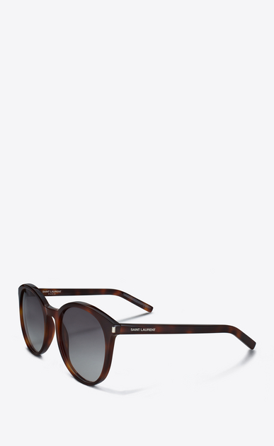 SAINT LAURENT Sunglasses D CLASSIC 6 SUNGLASSES IN light brown ACETATE WITH BROWN GRADIENT LENSES b_V4