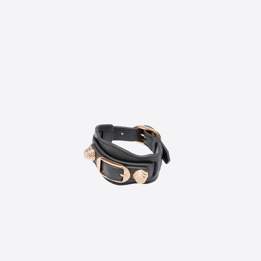 Balenciaga Giant Bracelet in Black VEsF9h