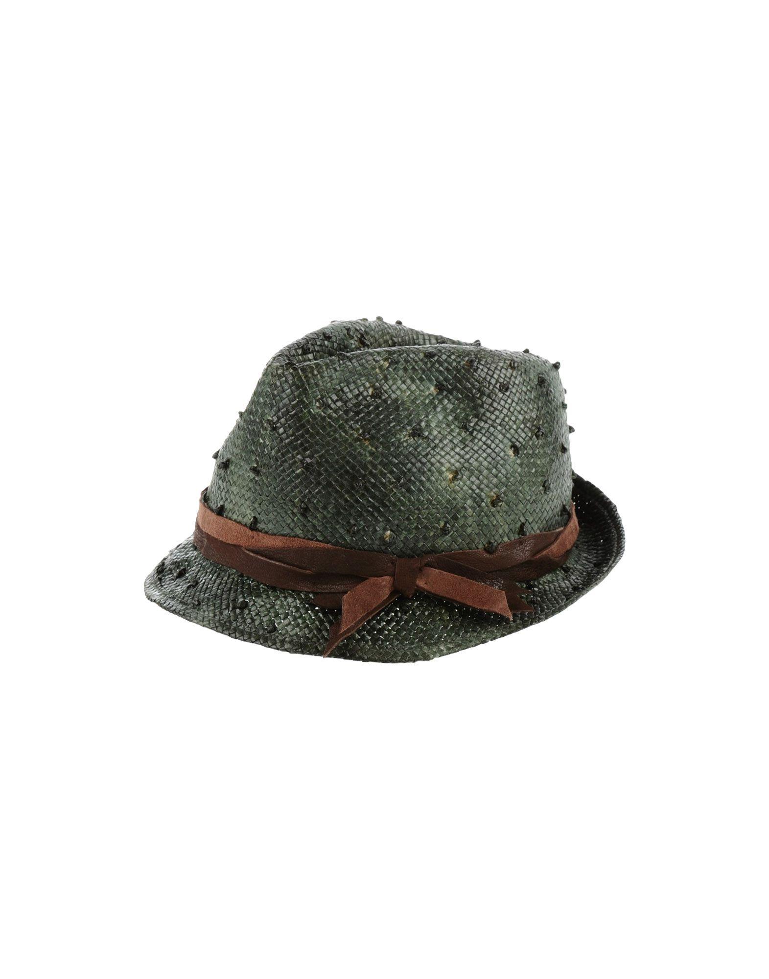 BRUNELLO CUCINELLI Damen Mützen & Hüte Farbe Grün Größe 6 jetztbilligerkaufen