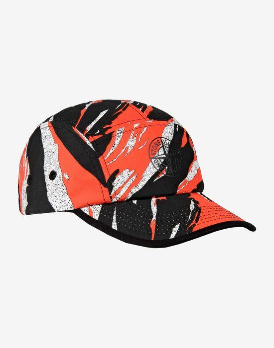 Hat 90164 TIGER STRIPE CAMO STONE ISLAND JUNIOR - 0 8451f7fce0c