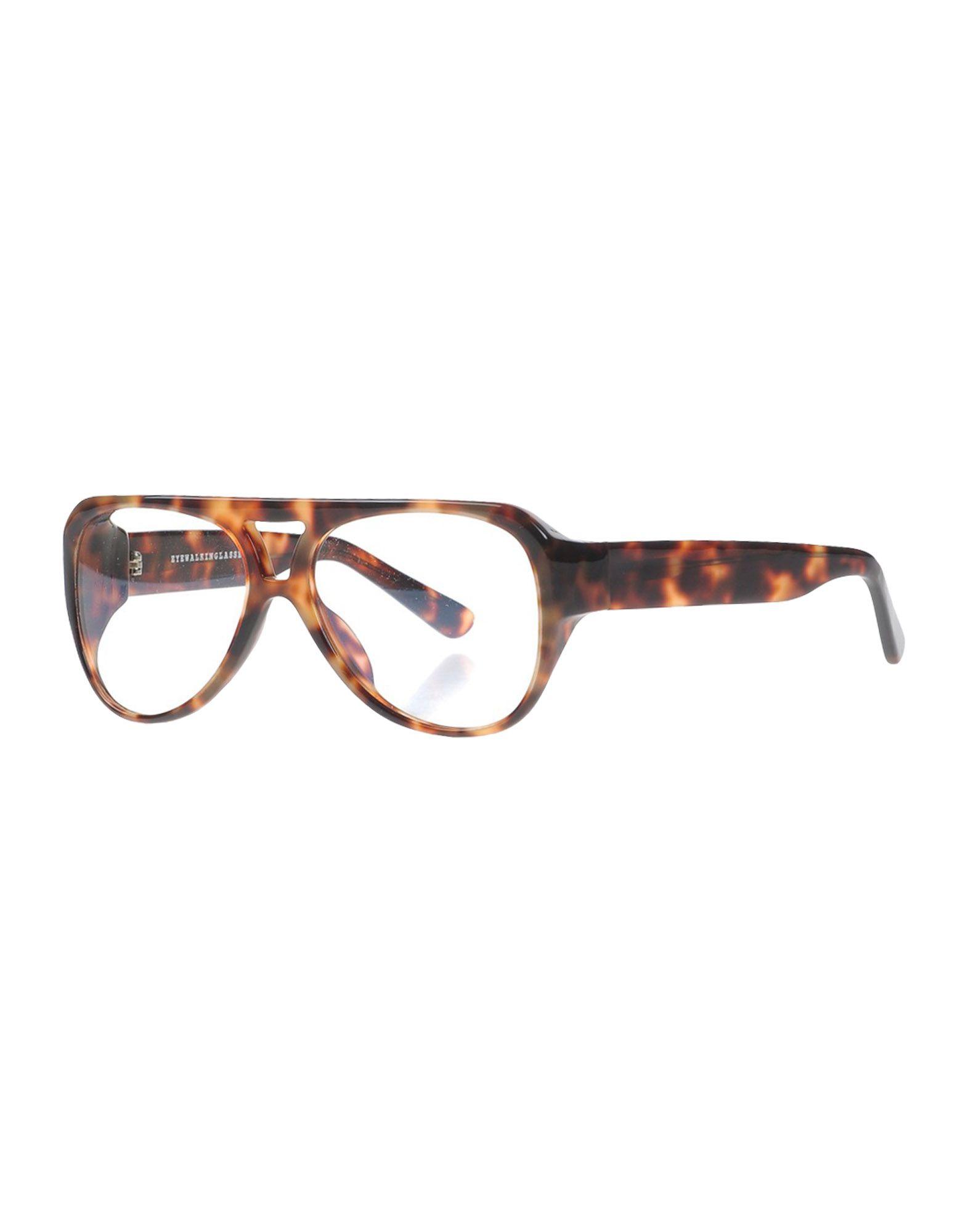 EYEWALKINGLASSES Herren Brille Farbe Braun Größe 1