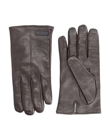 Фото - Мужские перчатки  темно-коричневого цвета