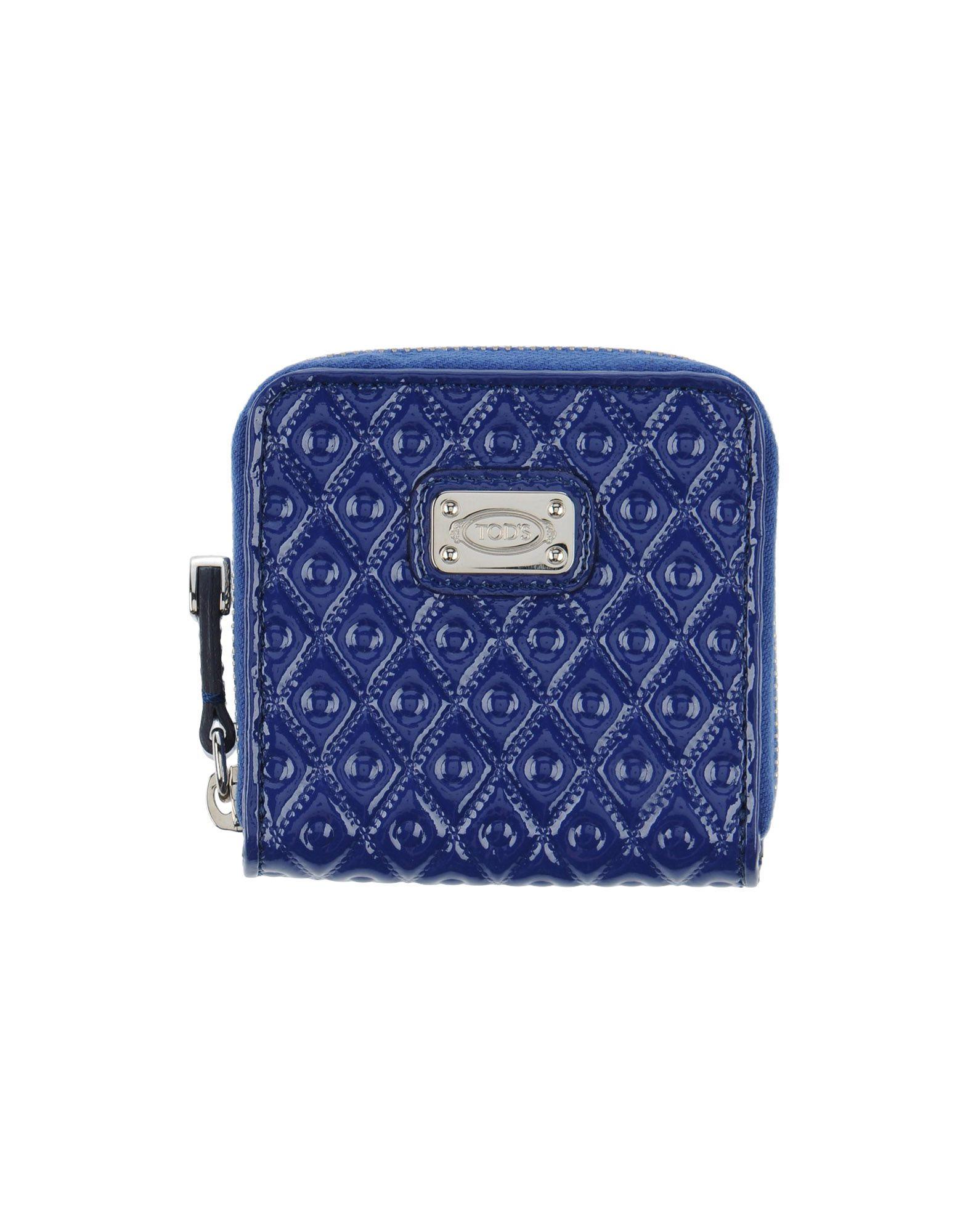 TOD´S Damen Portemonnaie Farbe Blau Größe 1