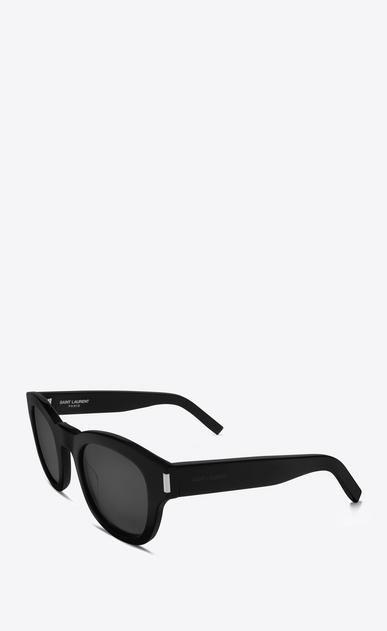 SAINT LAURENT BOLD E Occhiali da sole BOLD 2 neri in acetato lucido con lenti grigie b_V4
