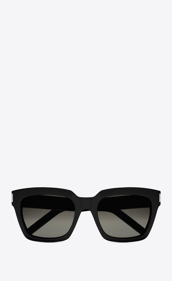 Saint Laurent Sonnenbrille aus schwarzem Acetat U5U9cG