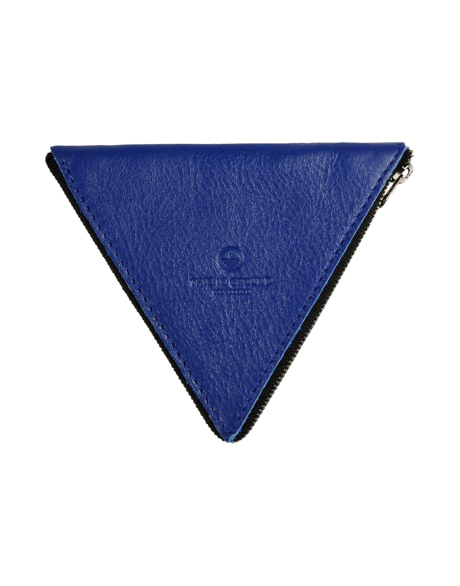 THIS IS GROUND Unisex Portemonnaie Farbe Blau Größe 1