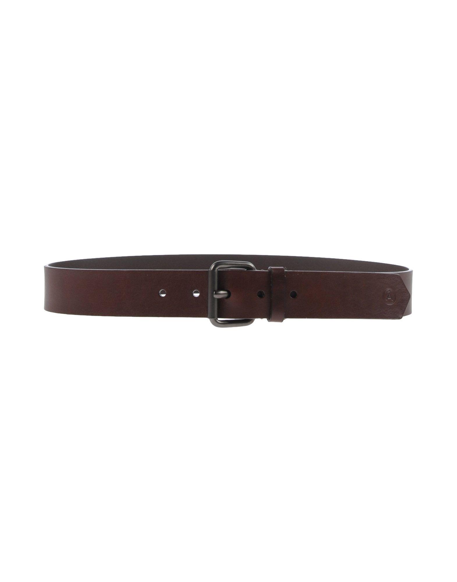 ÁLVARO GONZÁLEZ Belt in Dark Brown