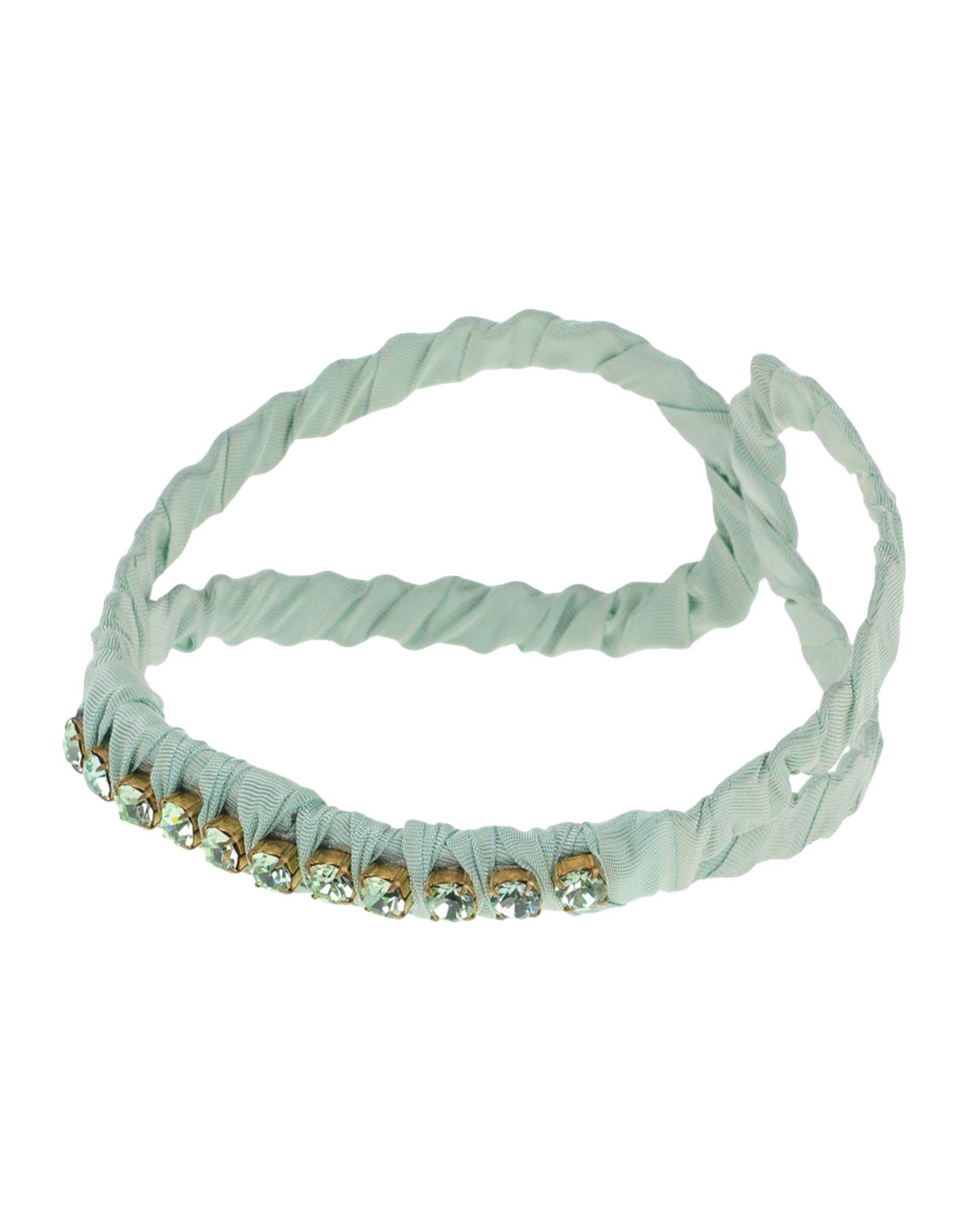 《送料無料》PINKO GREY レディース ヘアアクセサリー ライトグリーン 紡績繊維
