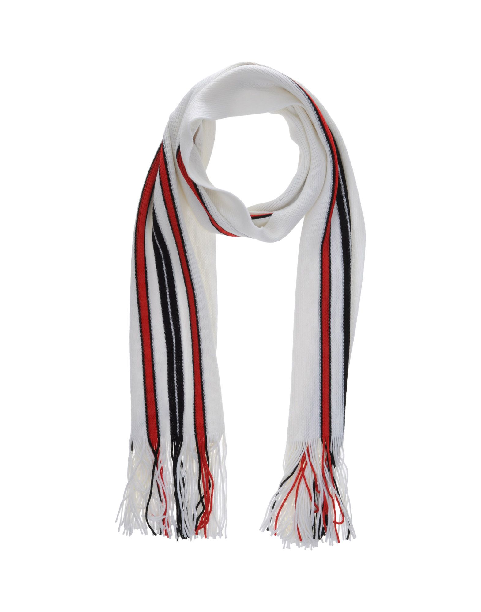 PAOLO ERRICO Damen Schal Farbe Weiß Größe 1 - broschei