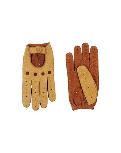 TRUSSARDI レディース 手袋 サンド 9 革