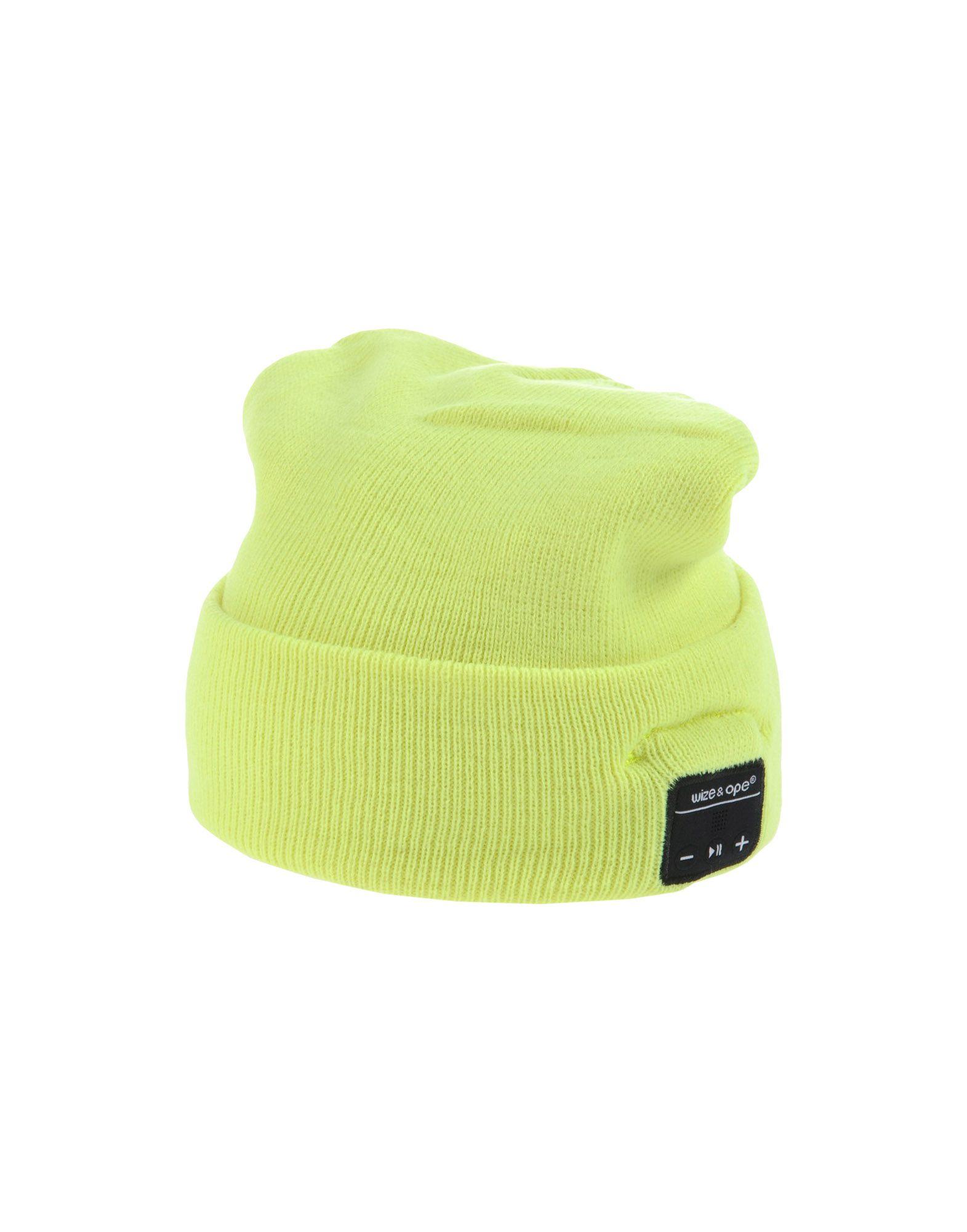 《送料無料》WIZE & OPE レディース 帽子 イエロー one size アクリル 100%