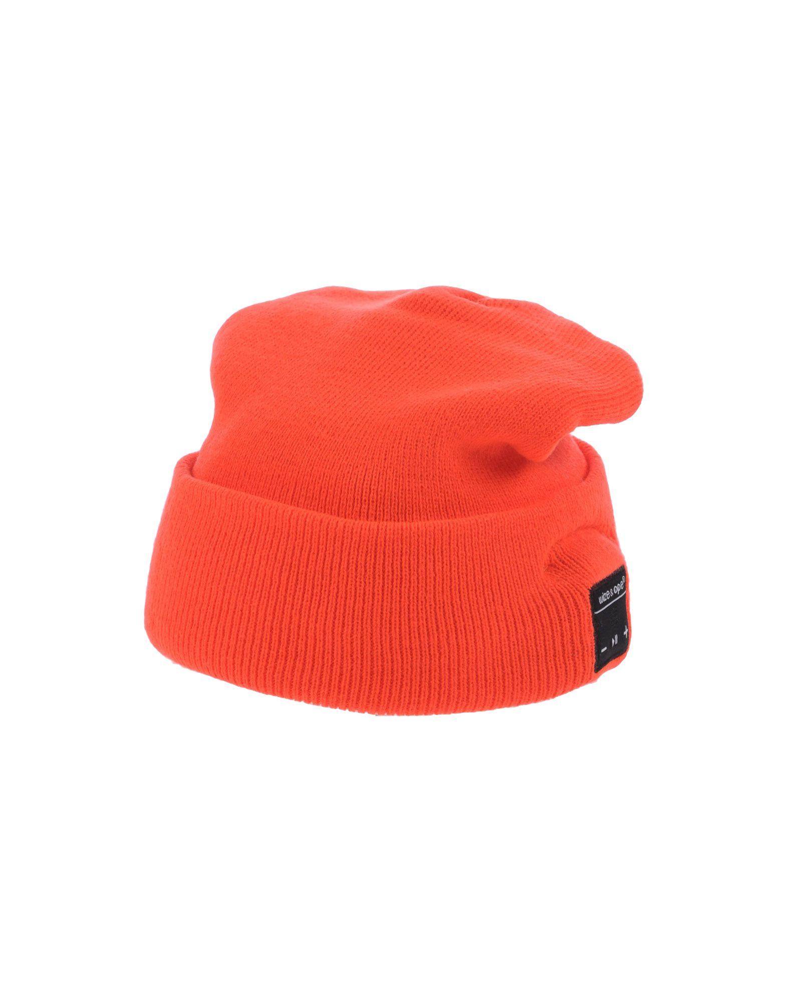 《送料無料》WIZE & OPE レディース 帽子 レッド one size アクリル 100%