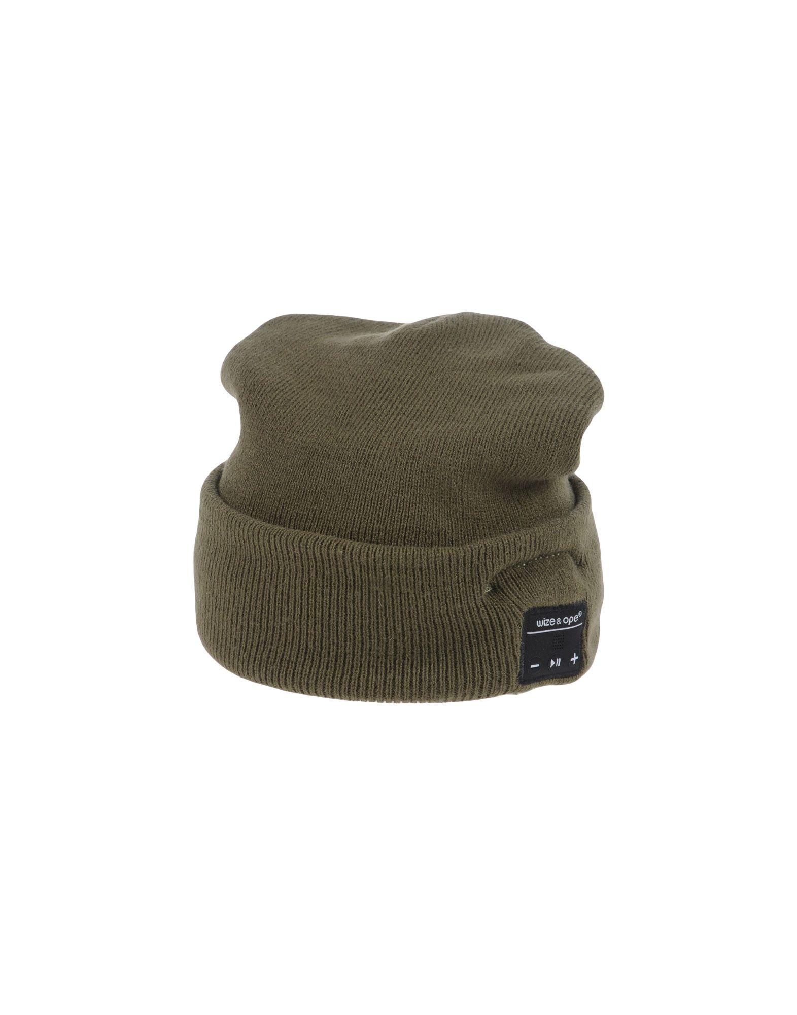 《送料無料》WIZE & OPE レディース 帽子 ミリタリーグリーン one size アクリル 100%