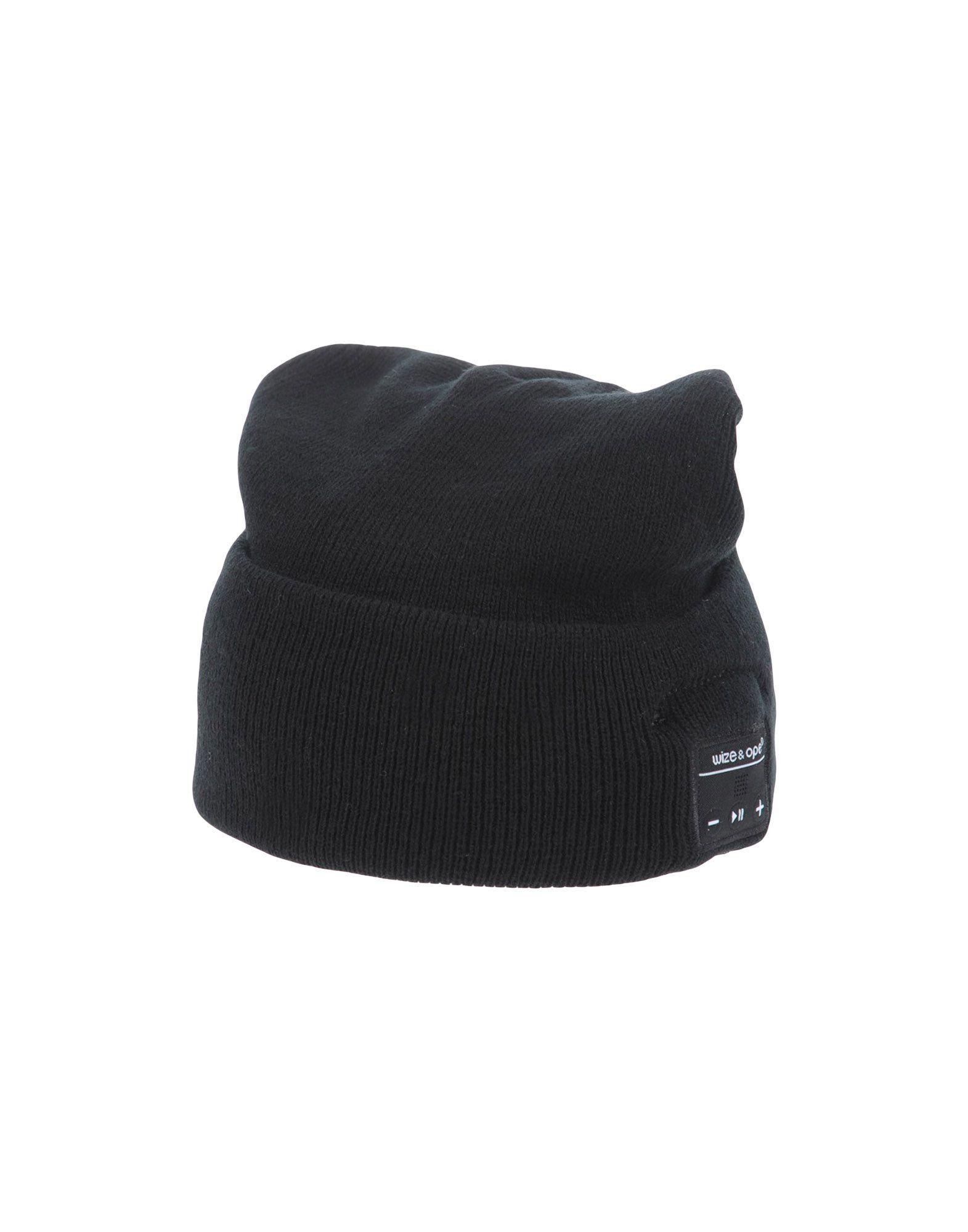 《送料無料》WIZE & OPE レディース 帽子 ブラック one size アクリル 100%