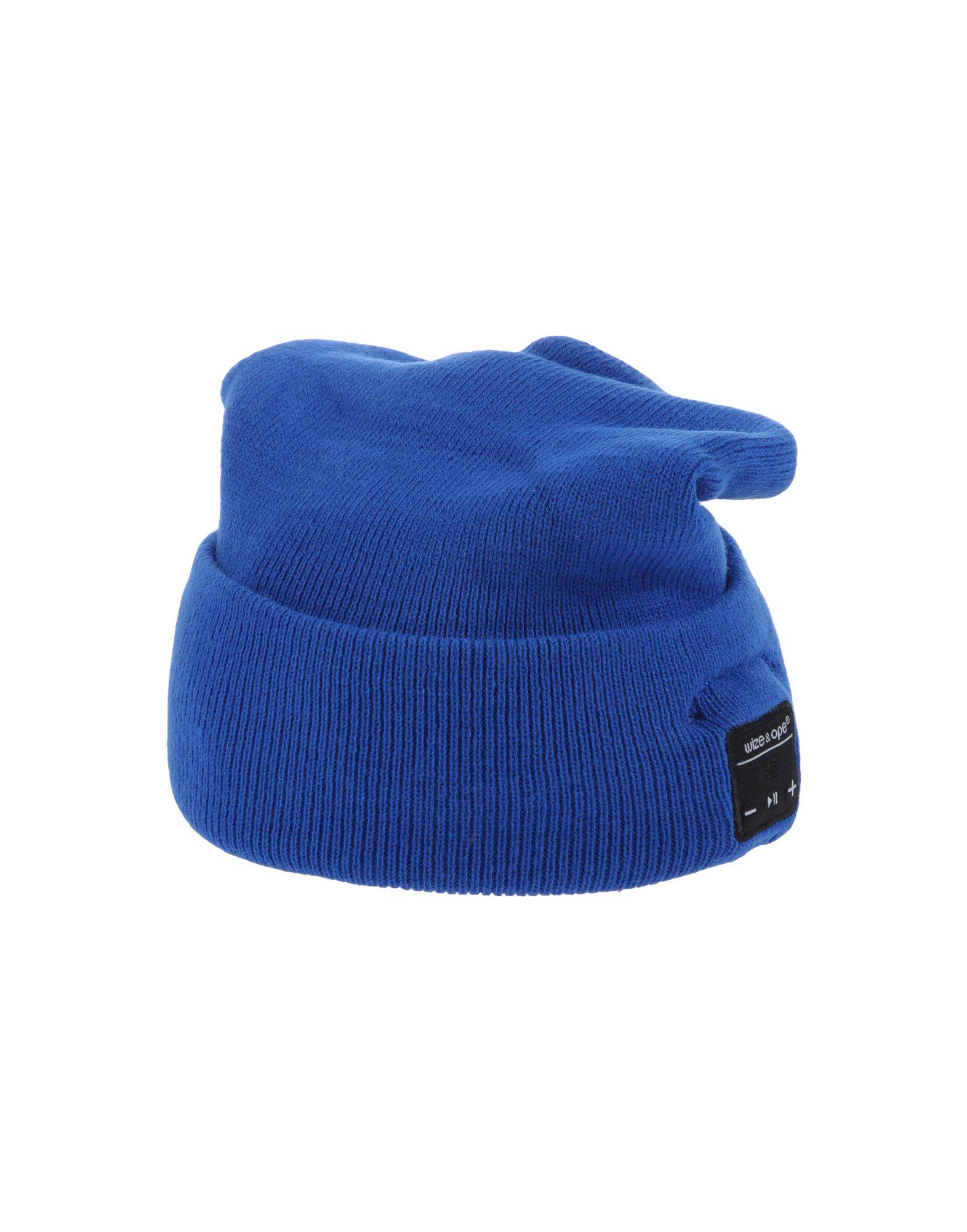 《送料無料》WIZE & OPE レディース 帽子 ブルー one size アクリル 100%