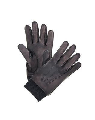 LANVIN SMOOTH LEATHER GLOVES Gloves U f