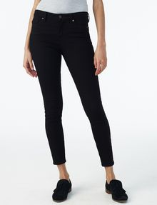 ARMANI EXCHANGE Pure Black Super-Skinny Jean Skinny jeans Woman f