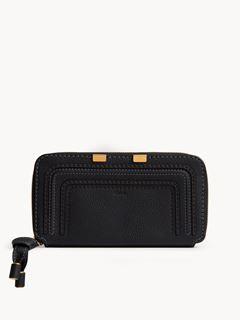 Marcie long zipped wallet