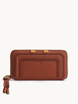 Marcie long zipped wallet