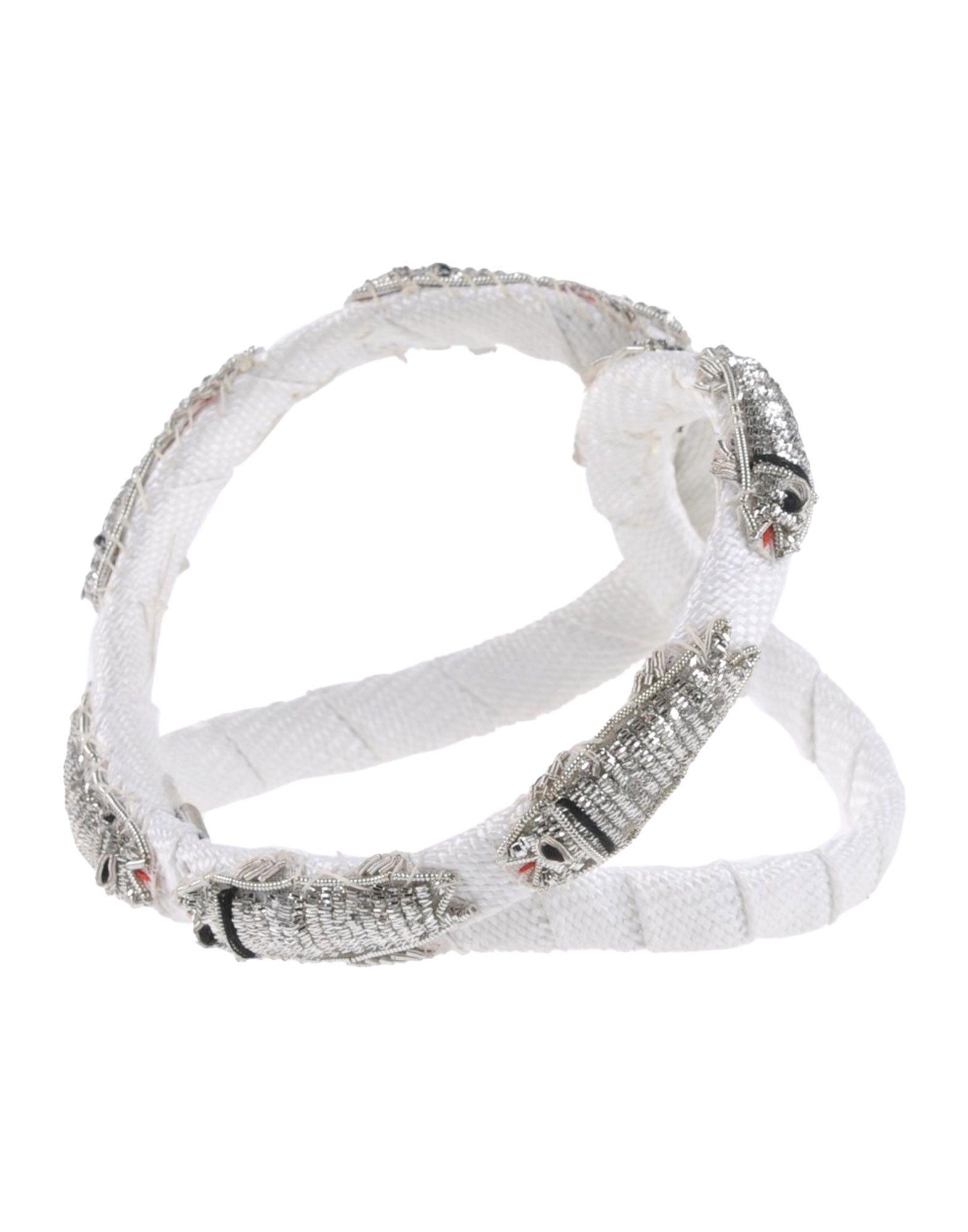 《送料無料》MISS GUMMO レディース ヘアアクセサリー ホワイト 紡績繊維