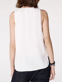 ARMANI EXCHANGE Watercolor Organza Tank Tank top [*** pickupInStoreShipping_info ***] r