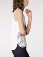 ARMANI EXCHANGE Watercolor Organza Tank Tank top [*** pickupInStoreShipping_info ***] d