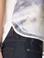 ARMANI EXCHANGE Watercolor Organza Tank Tank top [*** pickupInStoreShipping_info ***] e