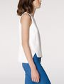 ARMANI EXCHANGE Textured High-Low Shell Shell Woman d