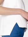 ARMANI EXCHANGE Textured High-Low Shell Shell Woman e