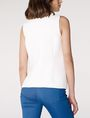 ARMANI EXCHANGE Textured High-Low Shell Shell Woman r