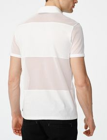 ARMANI EXCHANGE Mesh Mix Polo Short-sleeved polo U r