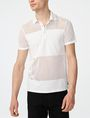 ARMANI EXCHANGE Mesh Mix Polo Short-sleeved polo U f