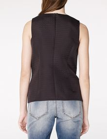 ARMANI EXCHANGE Textured High-Low Shell Shell D r